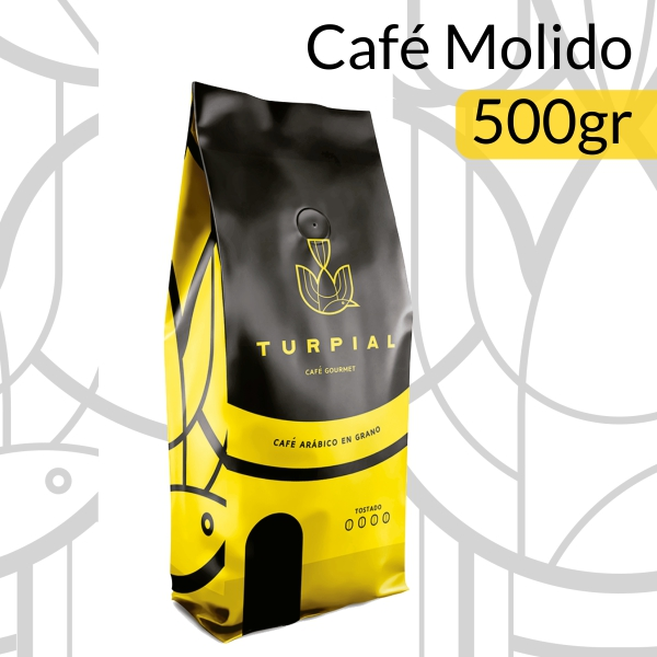 Turpial Coffee - Café Molido 500gr - Café Turpial